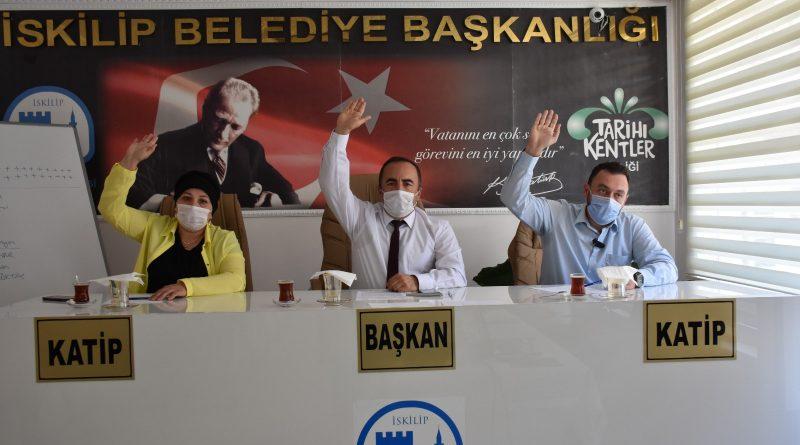 TEMMUZ AYI MECLİS TOPLANTISI GERÇEKLEŞTİRİLDİ